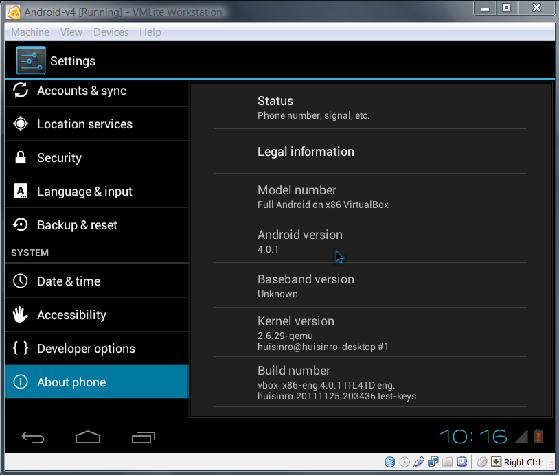 Setup, Install & Run Android KitKat in a Virtual Machine