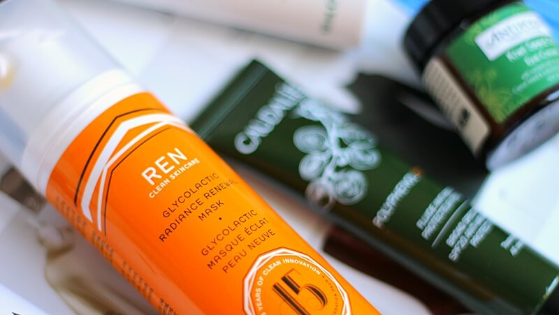 ren glycolactic radiance renewal mask review recenzija
