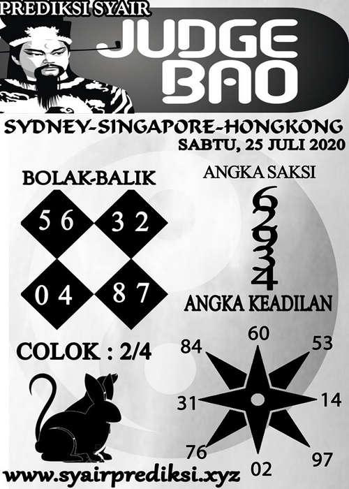 Kode syair Hongkong Sabtu 25 Juli 2020 193
