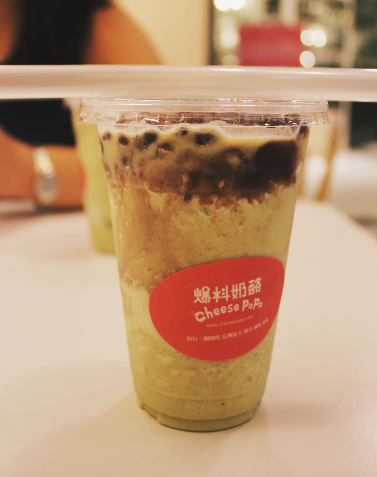 matcha drink dessert cafe cheap taiwan cheese papa