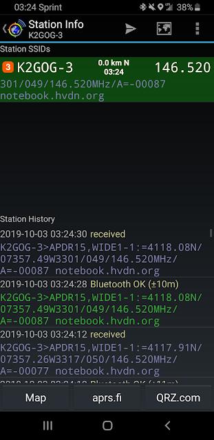 bluetooth APRS radio