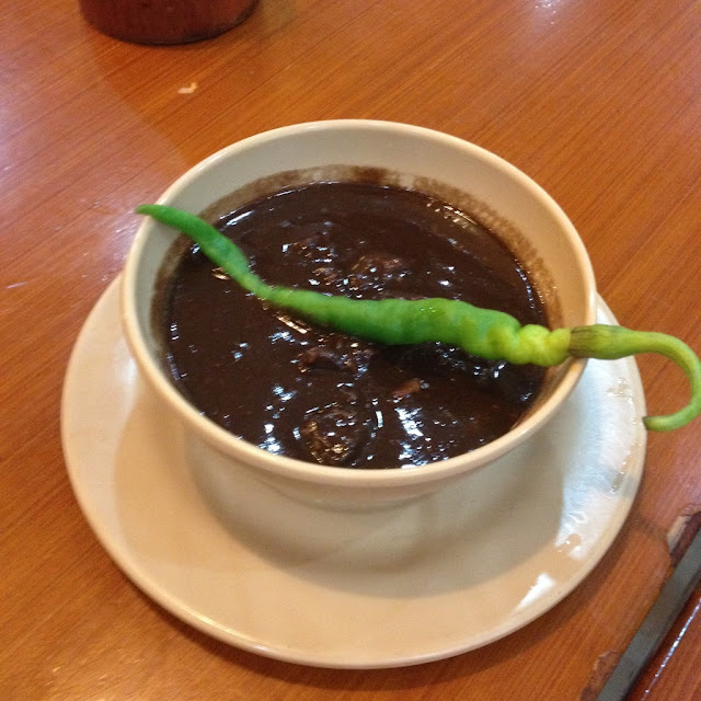 All-meat dinuguan at Mang Inasal