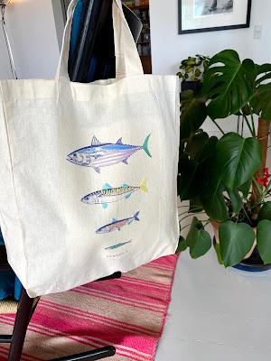 Stofpose med broderi, totebag with embroidery, easy