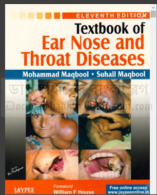 Textbook of Ear Nose and Throat Diseases