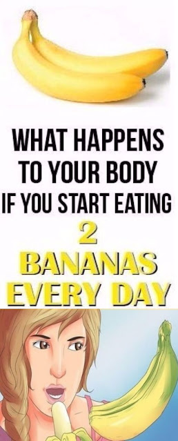 What Will Happen to Your Body if You Eat 2 Bananas a Day