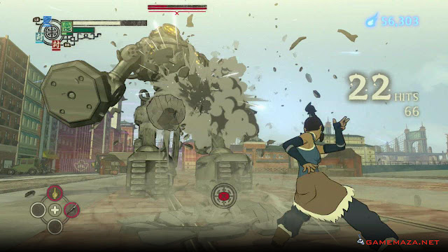 The Legend Of Korra Gameplay Screenshot 3