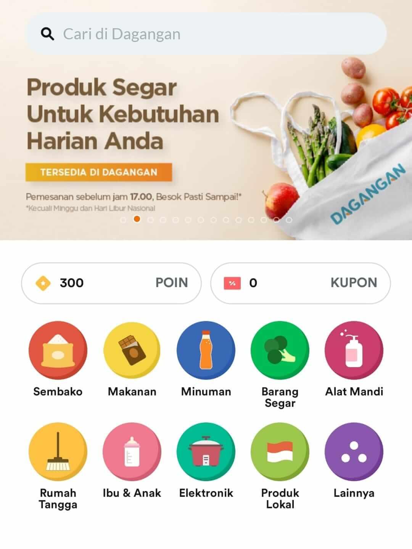 kategori produk aplikasi dagangan