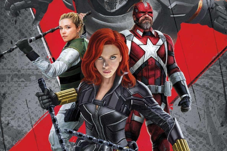 Black Widow: マーベル・ユニバースのフェーズ4の第1弾「ブラック・ウィドウ」のスカーレット・ジョハンソンたちを描いたプロモ・ポスター ! !