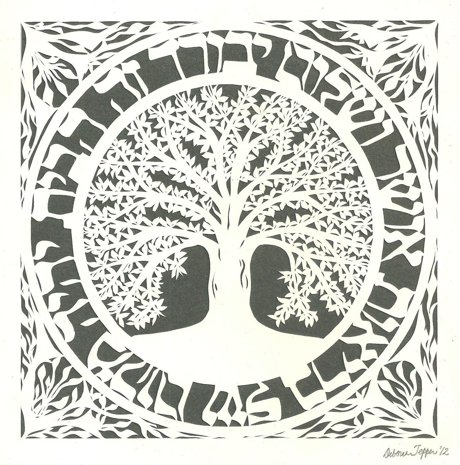 Deborah Tepper Papercut Art