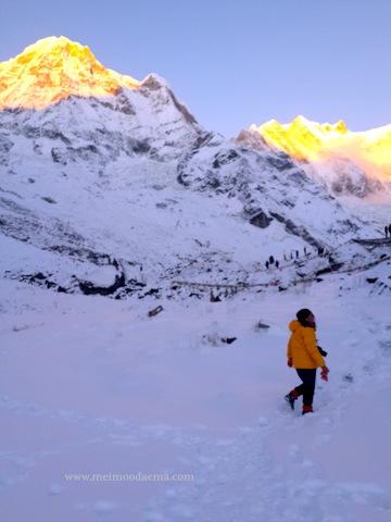 meimoodaema travel blogger dan pecinta gunung