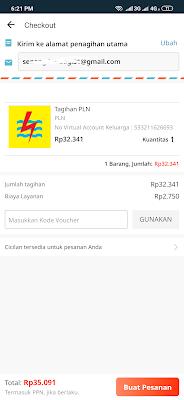 Bayar Tagihan Listrik dengan Aplikasi Lazada
