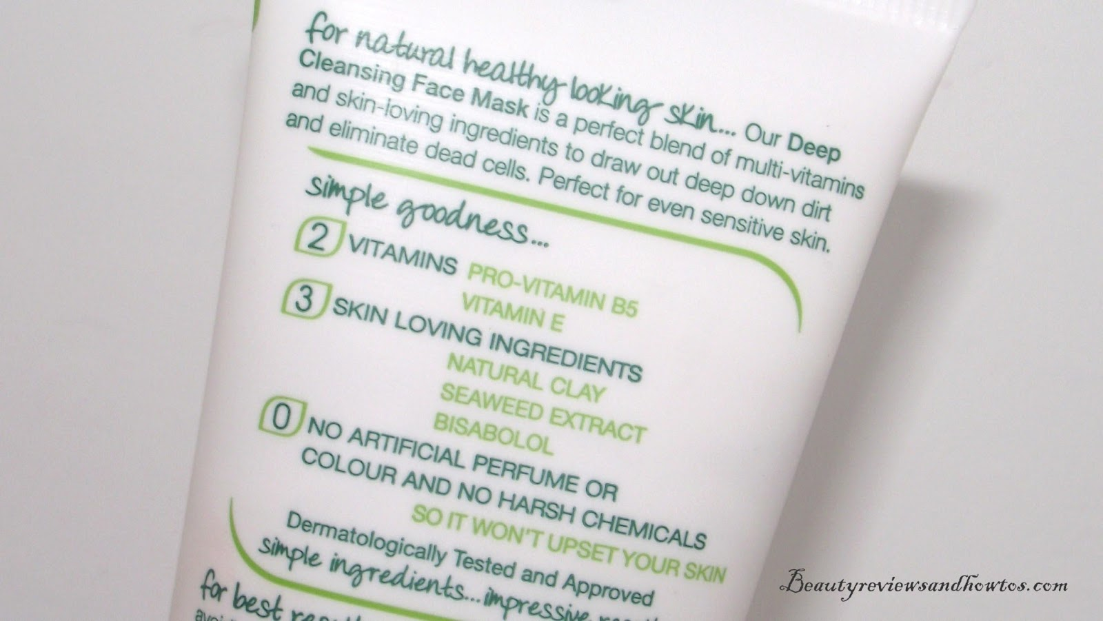 simple kind to skin deep cleansing face mask review
