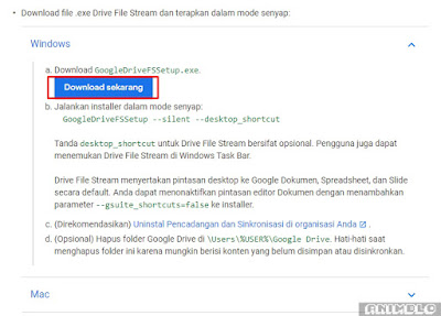 download aplikasi google drive file stream
