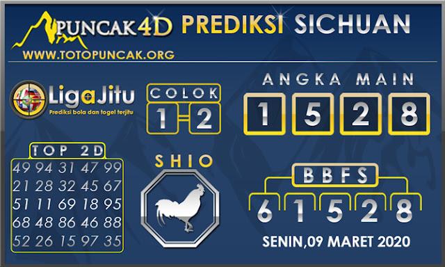 PREDIKSI TOGEL SICHUAN PUNCAK4D 09 MARET 2020