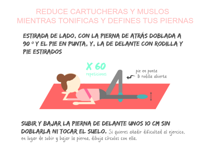 ejercicio para reducir parte interna del muslo