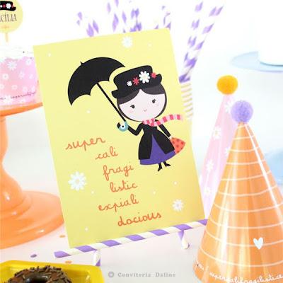 festa infantil tema mary poppins