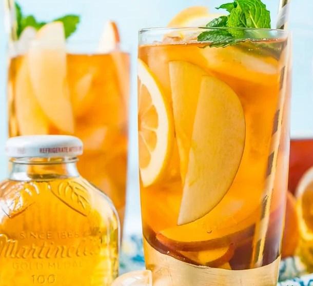 Apple Iced Tea #drinks #summerdrink