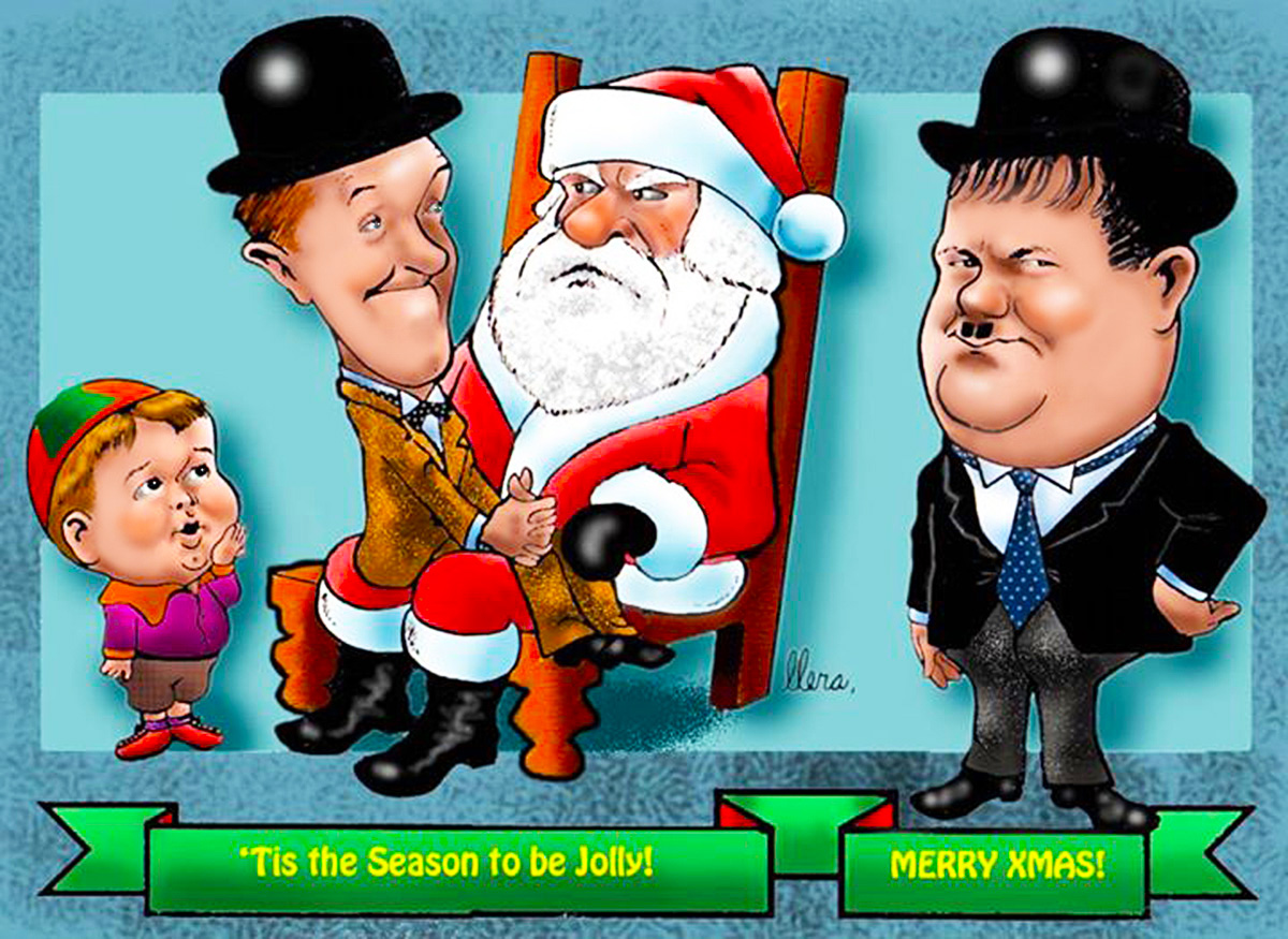 FERNANDO LLERA TOONS Laurel and Hardy – Laurel and Hardy Birthday Cards