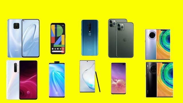 The 10 Best Smartphones in 2019.