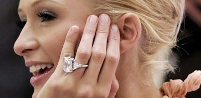 Bagues De Fiançailles De Paris Hilton