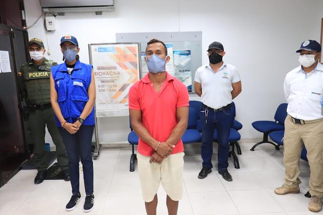 hoyennoticia.com, Deportan venezolano por perturbar el orden público en Riohacha