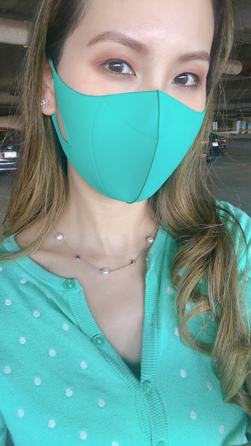 hmnkind Antibacterial Performance Face Mask in Teal