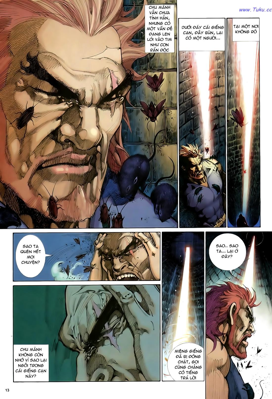 Anh hùng vô lệ Chap 29 trang 14