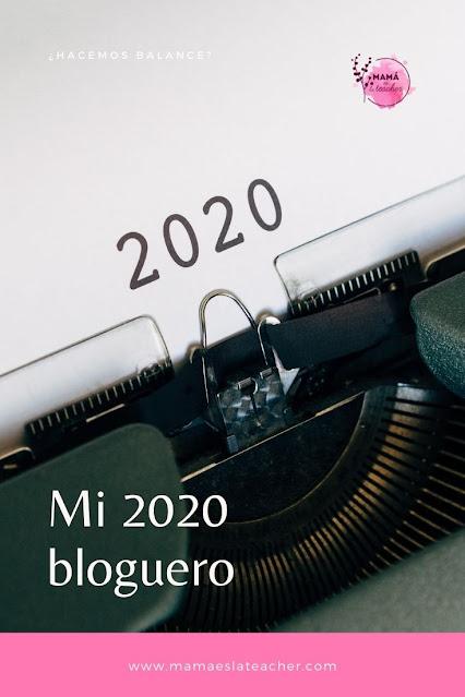 Mi 2020 bloguero. ¿Hacemos balance? Y cumplimos propósitos.