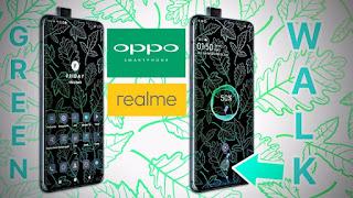 Tema Greenwalk for Oppo Smartphone