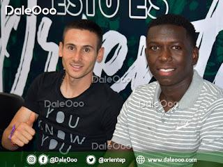 Norberto Palmieri y Jomar Herculano fueron presentados como nuevos jugadores de Oriente Petrolero - DaleOoo