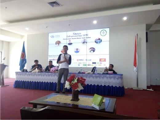 Ikut Talkshow Entrepreneurship TDA 2016 di Palu Yanikmatilah Saja