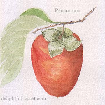 Persimmon Oat Cookies  / www.delightfulrepast.com