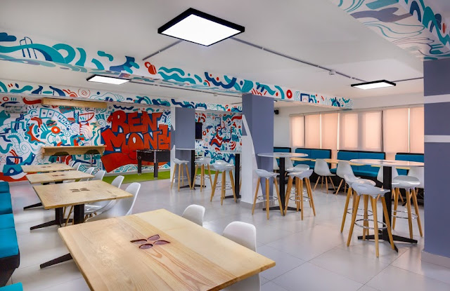 Renmoney New Innovative Office Space Unveils by Spacefinish