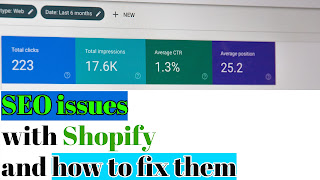 Four regular SEO issues with Shopify and how to fix them | SEO issues
