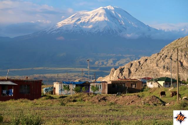 Doğubayazıt, la vista verso il monte Ararat
