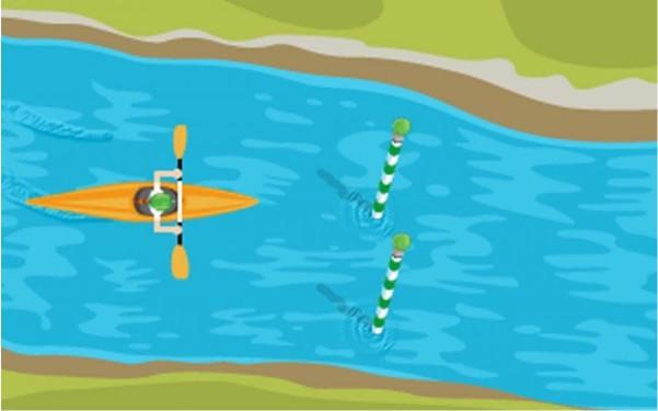 Google Doodle Games To Play Slalom Canoe