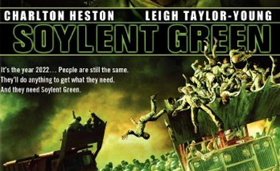 Soylent Green population control euthanasia Make Room depopulation movies books