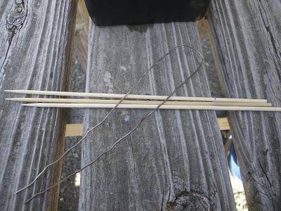 竹串 針金