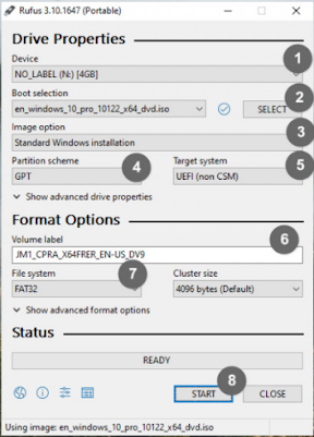 cara membuat bootable flashdisk windows 10 dengan rufus