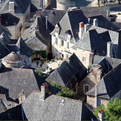 Turenne seen from the castle.