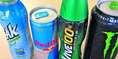 Salud bebidas energéticas