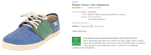 Pompeii Tucano, color indigo grass