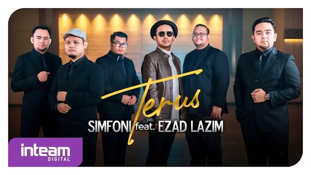 Lirik lagu Simfoni feat Ezad Lazim Terus