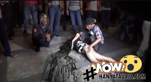 Video Wanita Terjun Dari Lantai 6 Hotel Di Medan?