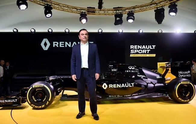 Ông Carlos Ghosn, Chủ tịch tập đoàn Renault