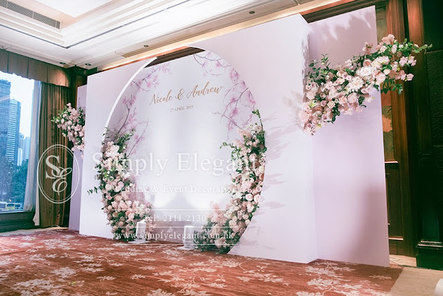 文華東方酒店,婚宴佈置,Mandarin Oriental Hong Kong,Wedding Decoration