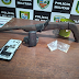 Polícia Militar detém dois jovens com arma caseira e entorpecentes no município de Careiro Castanho