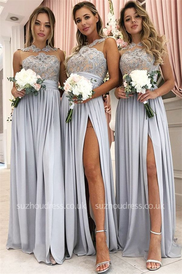 https://www.suzhoudress.co.uk/glamorous-a-line-lace-chiffon-sleeveless-side-slit-bridesmaid-dress-g23179?cate_2=18?utm_source=blog&utm_medium=ModernRapunzelBlog&utm_campaign=post&source=ModernRapunzelBlog