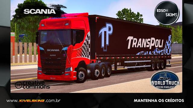 SCANIA S730 - TRANSPOLI