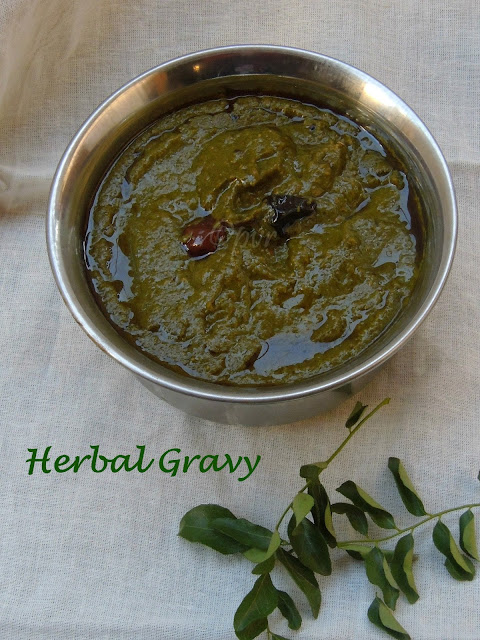 Herbal Gravy, Mooligai Kuzhambu